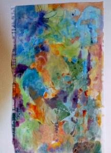 aquarelle sur papier chinois 93 157